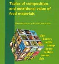 Tables of Composition and Nutritional Value of Feed Materials